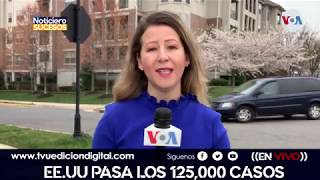 Estados Unidos pasa los 125,000 casos de  Covid-19