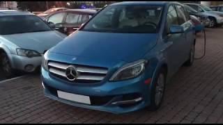 Обзор Mercedes-Benz B-class Electric Drive | CarPoint