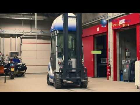 Blue Planet Hydrogen Forklift - 1080p