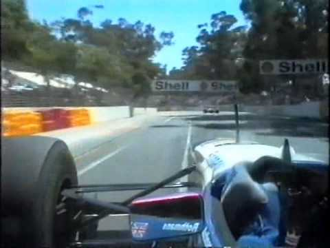 Onboard Lap with Damon Hill - 1995 Australian Grand Prix in Adelaide