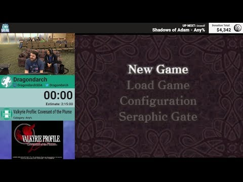 Valkyrie Profile: Covenant of the Plume (Any%) by Dragondarch (RPG Limit Break 2018 Part 3)