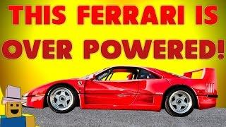 Vehicle Simulator   This FERRARI is SUPER FAST!!!