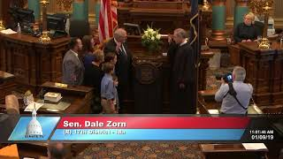 Sen. Zorn sworn in as Michigan senator