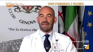 Giorgia Meloni: L'infettivologo Bassetti spiega come sia incomprensibile prorogare stato emergenza