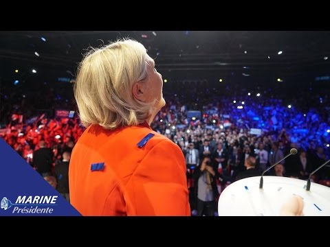 Grand meeting de Marine Le Pen au Zénith de Paris (17/04/2017)