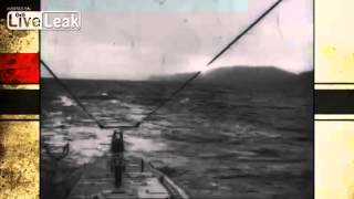 WWI Clip + Footage from U-Boat Operations