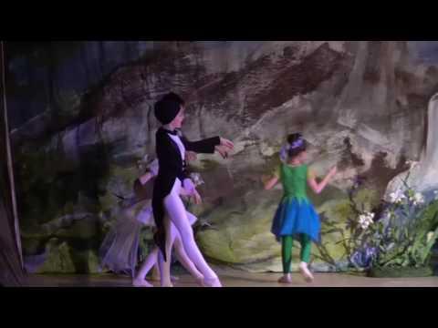 """Детский балет """"Дюймовочка"""". Дюймовочка и Ласточки"""