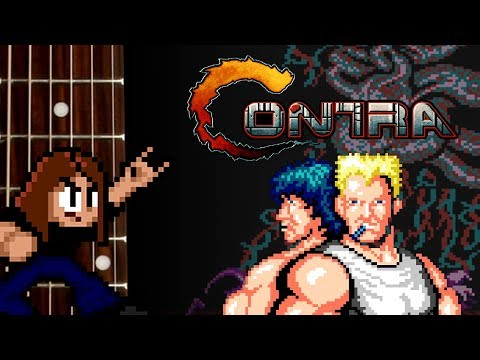 CONTRA Guitar Playthrough