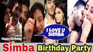 Splitsvilla 11 || Simba Nagpal Birthday Party with his Gf Monal || Mtv Splitsvilla 11 latest update