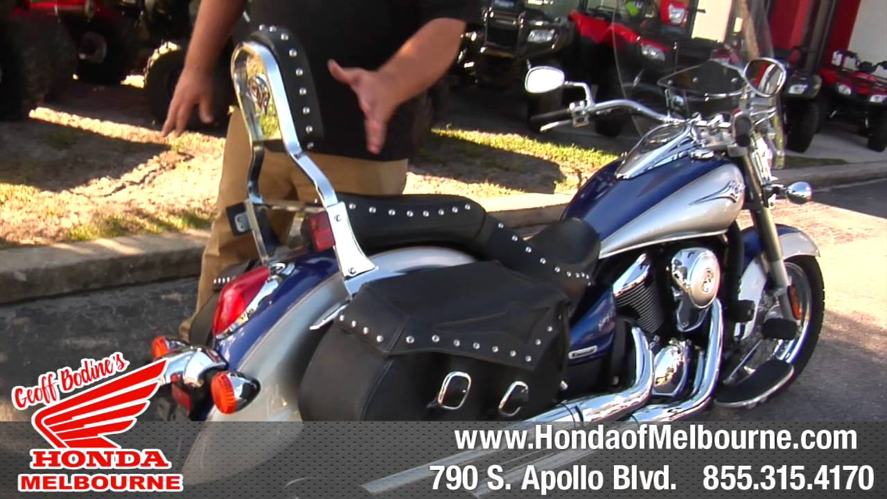 Geoff Bodine Honda >> 2008 Kawasaki Vn900 Lt Geoff Bodine S Honda Of Melbourne Fl