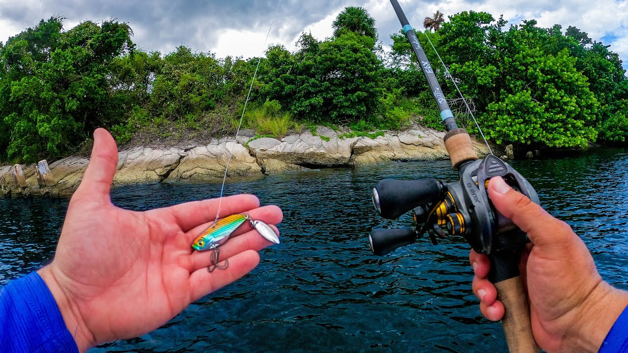 Fishing Deep Inshore to Find Fish on a Brutally Hot Day