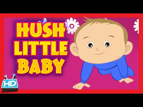 HUSH LITTLE BABY Lullaby Song | LULLABY with LYRICS