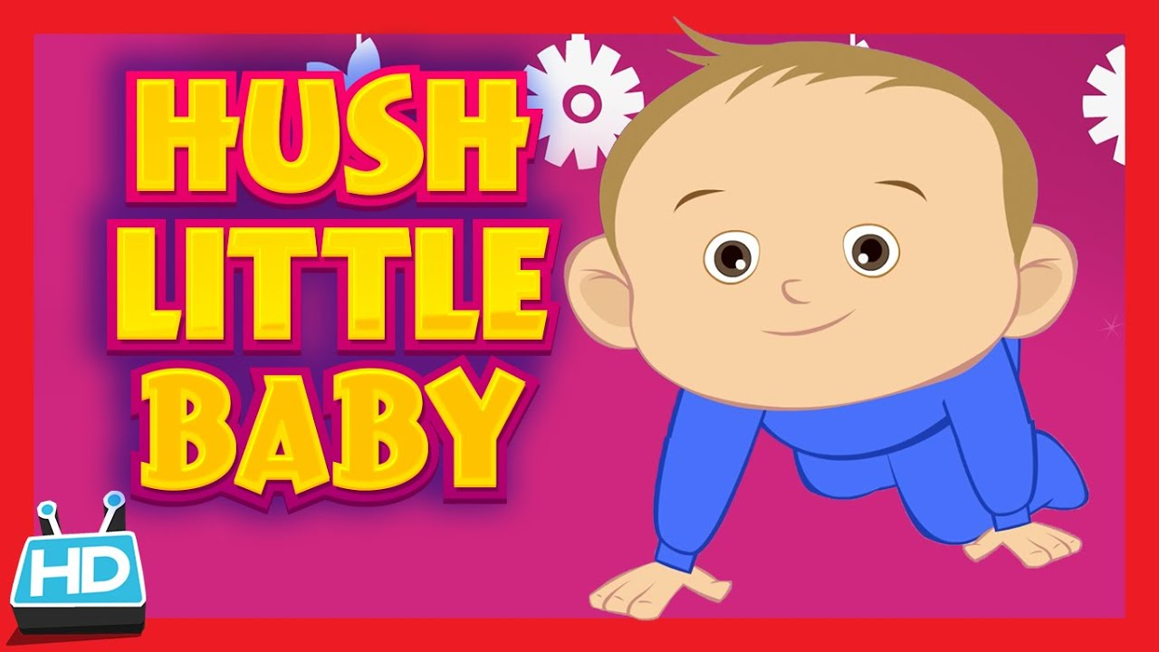 HUSH LITTLE BABY Lullaby Song | LULLABY with LYRICS - YouTube