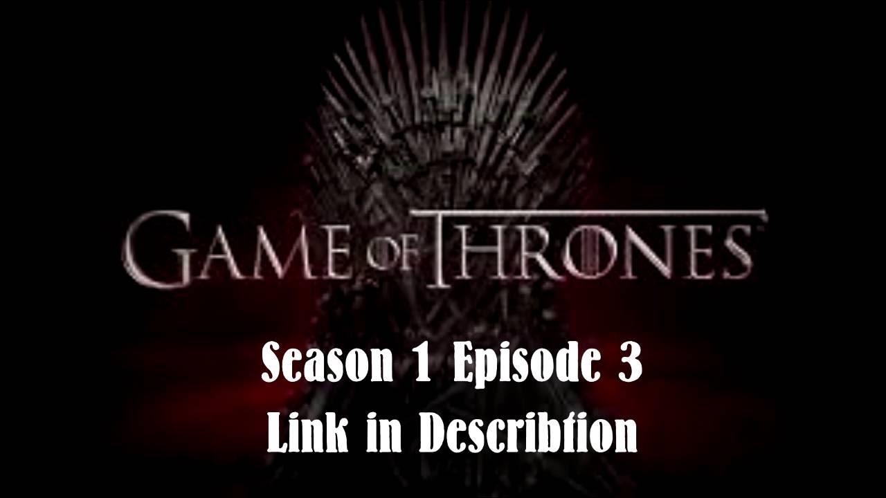 Game Of Thrones Staffel 1 Folge 3 Stream Deutsch
