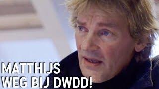 Matthijs van Nieuwkerk vertrekt als presentator van De Wereld Draait Door