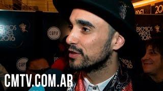 Abel Pintos - Entrevista CM Premios Gardel 2016