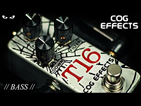 Cog Effects T-16 Analog Octave - BASS Demo