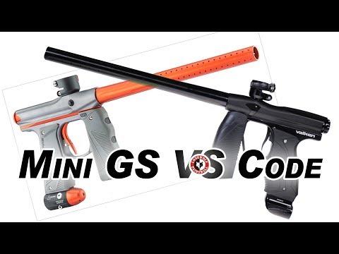 Valken Code vs Empire Mini GS Marker Comparison | Lone Wolf Paintball Michigan