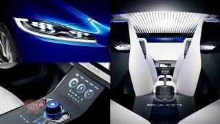Jaguar C-X17 Concept Wins Interior Design Award