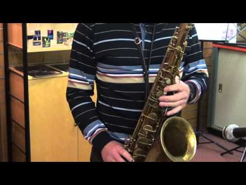 "Summertime Backing Track - Conn 10m Tenor Sax - ""Naked Lady"""