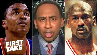 Stephen A. on MJ and the Bulls' feud with Isiah Thomas and the Pistons | First Take