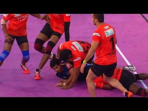 #PKL2018:  U-Mumba Beat Haryana Steelers By 53-26 | Sports Tak