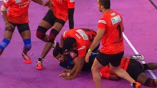 #PKL2018:  U-Mumba Beat Haryana Steelers By 53-26 | Sports Tak