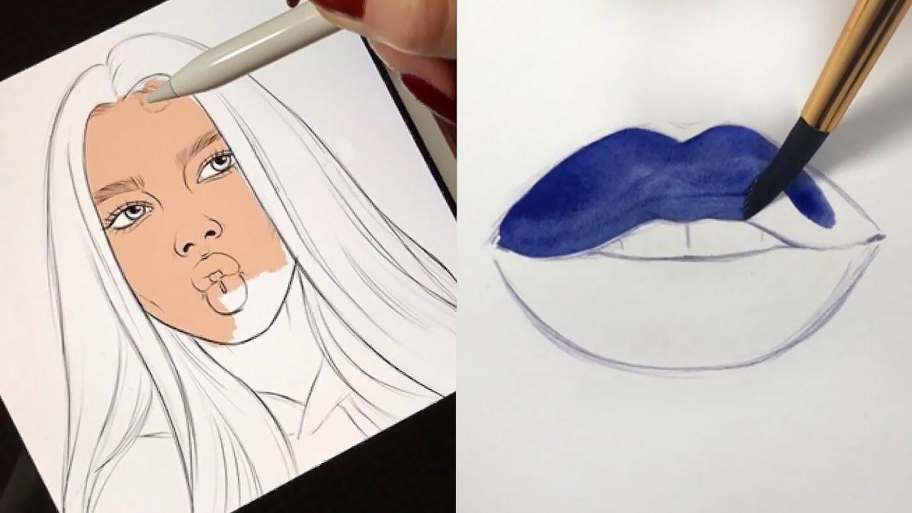 Oddly Satisfying Art Videos Part 2 Natalia Madej