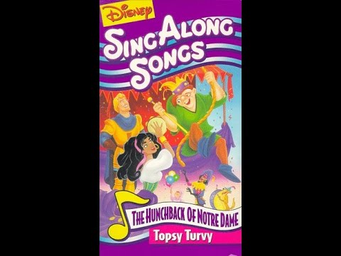 Opening to Disney Sing Along Songs- Topsy Turvy 1996 VHS