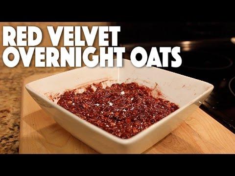 Red Velvet Overnight Oatmeal | Recipe