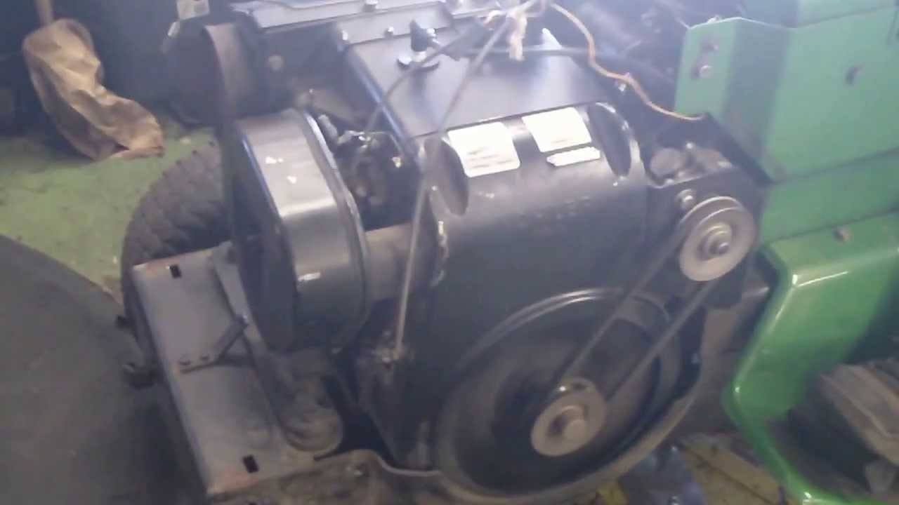 John Deere 212 Kohler K301 Engine Running Great Youtube Wiring Harness