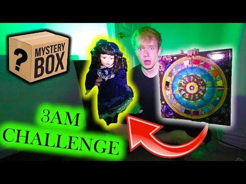 3am OUIJA BOARD on HAUNTED MYSTERY BOX ITEMS