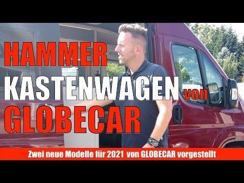 Die NEUEN von Globecar für 2021. Kastenwagen. Roadcar.