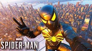 O HOMEM ARANHA com ROUPA PRETA! - (SPIDER-MAN PS4)