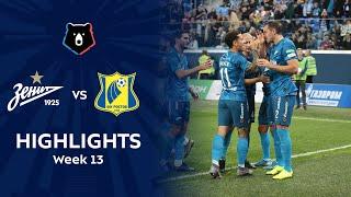 Highlights Zenit vs FC Rostov (6-1)