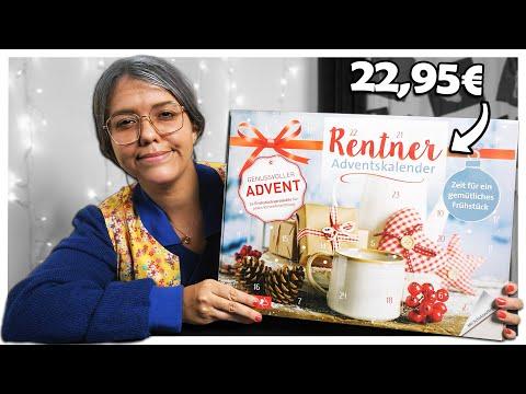 Ich teste einen Adventskalender für Rentner!