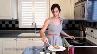 Gas Or Bloating? Cooking Video For Ibs - Foods That Fee Good: Raspberry Coconut French Toast