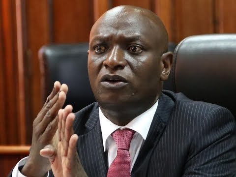 CS, Charles Keter addresses county commissioners