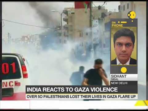 India express concerns over tension at Gaza border