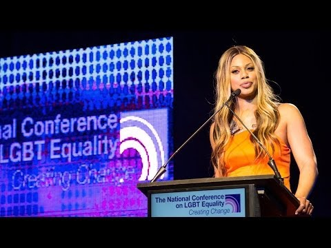 Laverne Cox at Creating Change 2014 E
