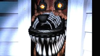 FOXY IS IN YOUR CLOSET! - FIVE NIGHTS AT FREDDY'S 4 [Night 3]