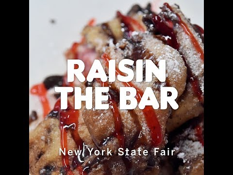 NYS Fair foods: How 'Raisin the Bar' strawberry-chocolate sandwich is made (video)