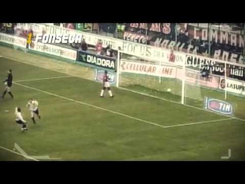 Goal di Fonseca contro il Milan