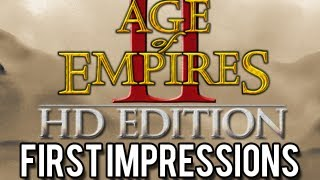 First Impressions - Age of Empires 2 HD Edition - Gameplay [Steam/PC]