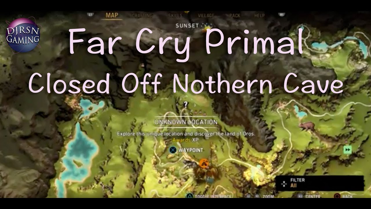 Far Cry Primal Closed Off Northern Cave Youtube