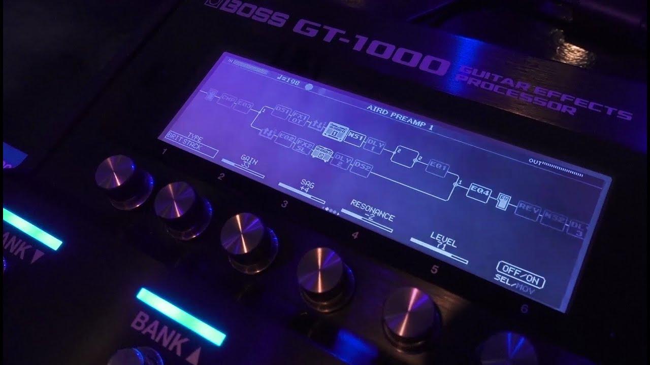 Gt-1000 boss