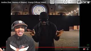 Avelino (feat. Stormzy & Skepta) - Energy [Official Video] | NoLifeShaq REACTION
