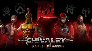 Chivalry: Deadliest Warrior Gameplay (All Classes)