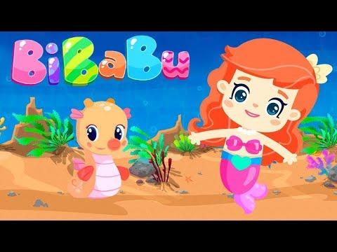 Çizgi Film Bibabu Ve Arkadaşları Mercan'a Yardım Ediyorlar!