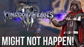 Kingdom Hearts 3 - Star Wars Might Not Happen